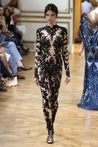 model-black-lace-sequined-zuhair-murad-couture-jumpsuit