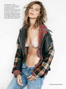 Editorial - Vogue UK September 2013 Rebel Rebel by Patrick Demarchelier Daria Werbowy 2